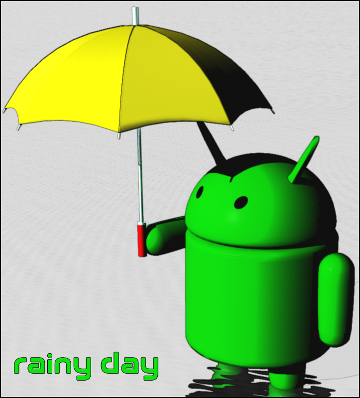 G-Droid Rainy Day