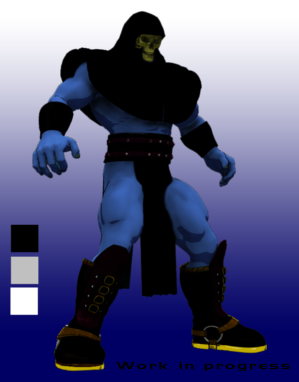 Another visione of Skeletor